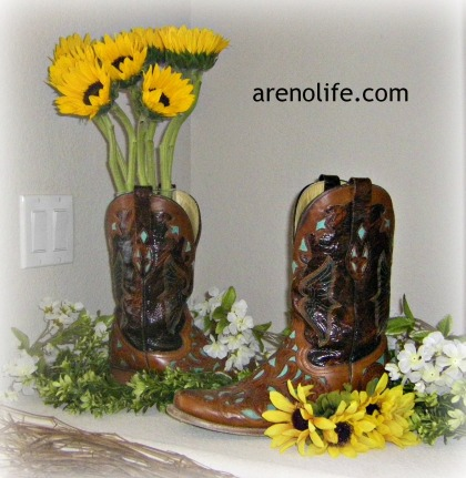 Boots n Sunflowers
