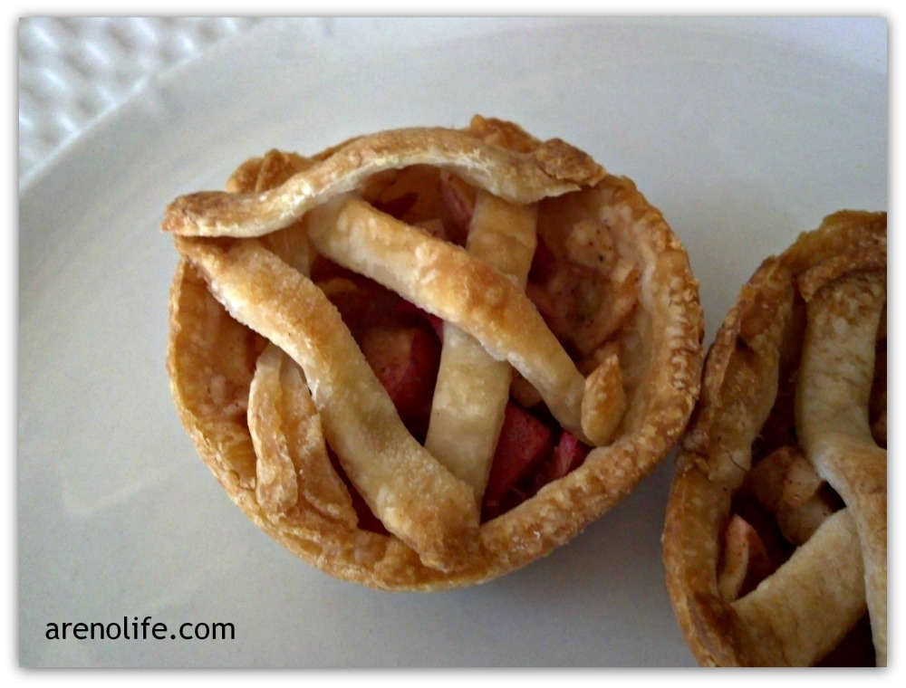 Finished Mini Apple Pies
