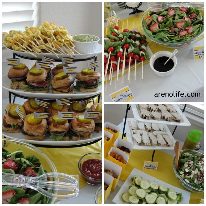 Buffet Spread Collage