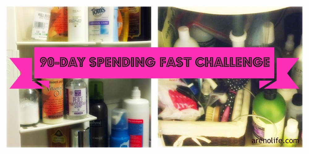 90 Day Spending Fast Challenge