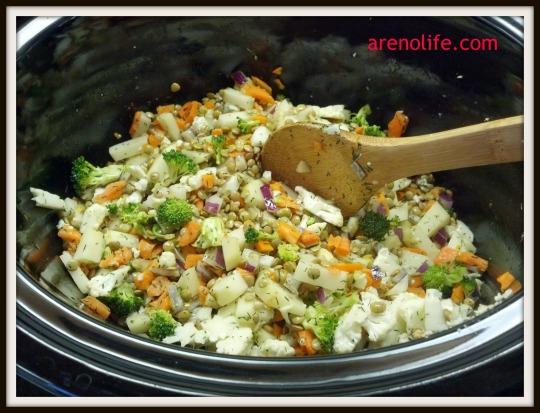 Left-Over Veggie Stew