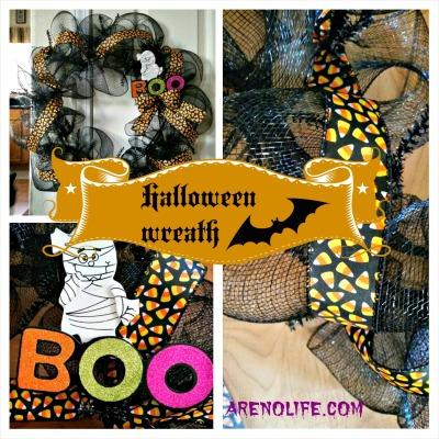 Halloween Wreath Collage 2
