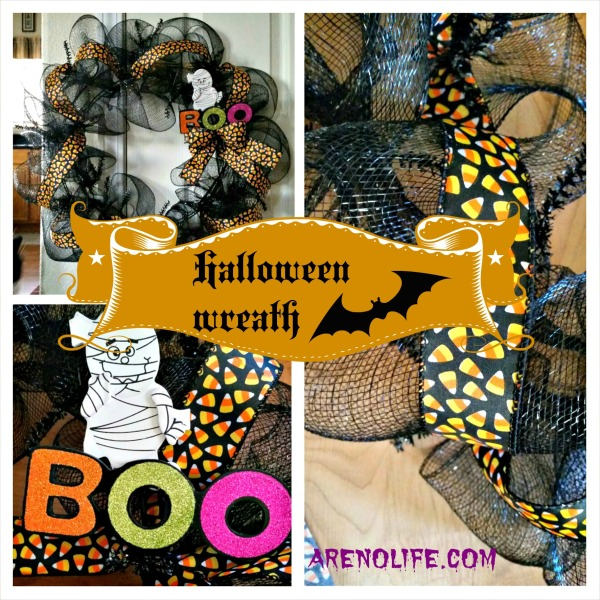 Halloween Wreath Collage 2