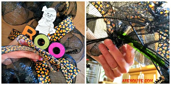 Halloween Wreath Embelishments
