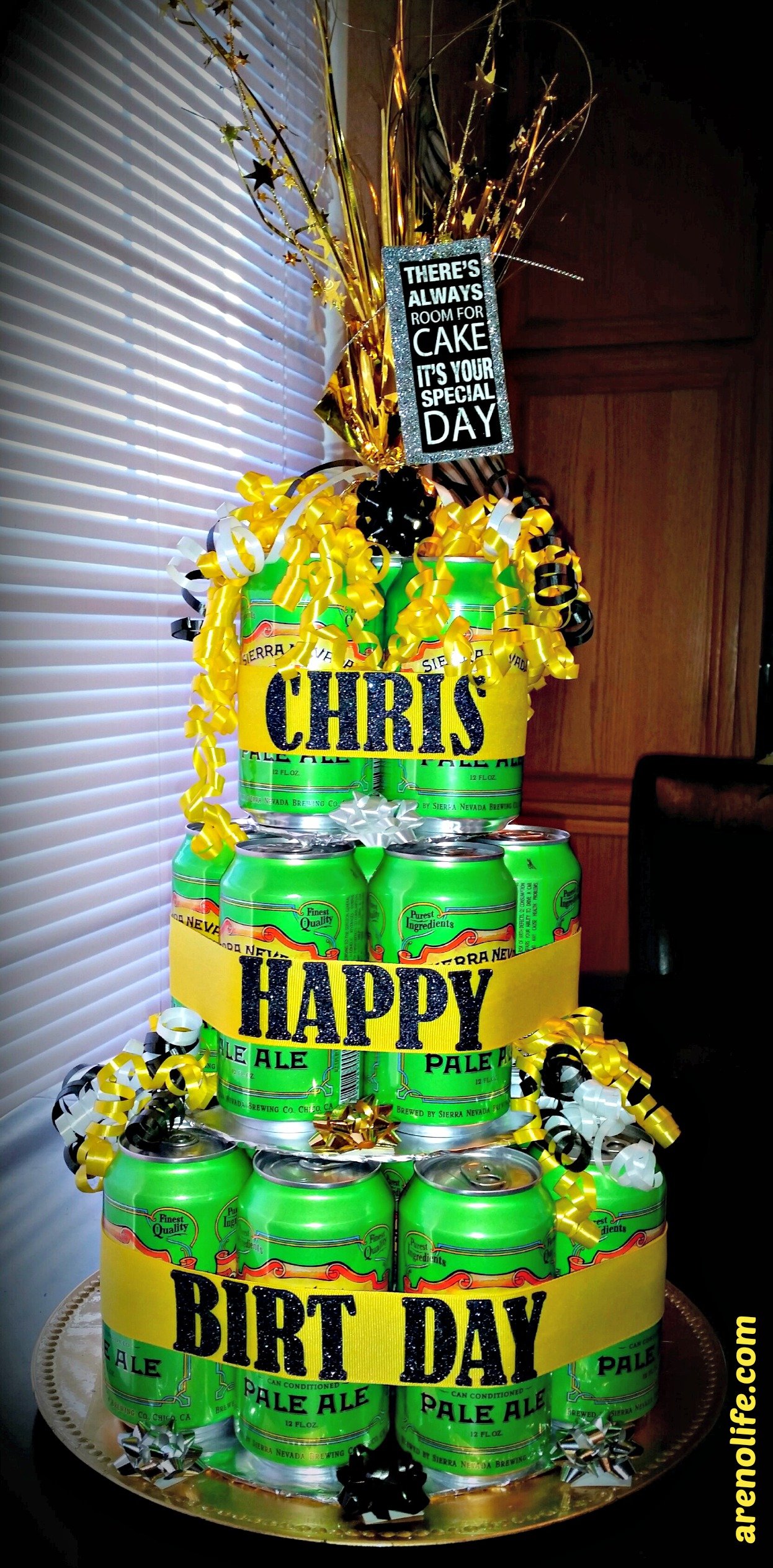 Birthday Beer Cake Arenolife